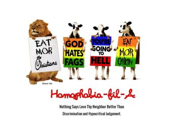 Eat More Christians by MSOwolf