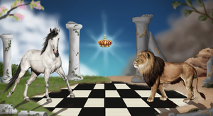 who`s king? by MiriMina