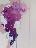 Dripping Pansies by procrastinate-later