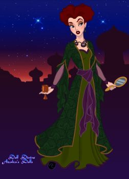 Winifred Sanderson by ArtLover2192