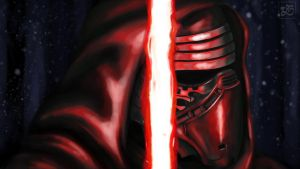 Kylo Ren by O-RS