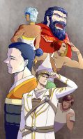 To Aerorwen: The Fall - Sentinel Rangers by Ringo-Mikan