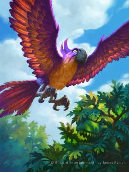 Hearthstone - Jeweled Macaw by namesjames