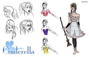 CINDERELLA - A Visual Development Project (4) by DylanBonner