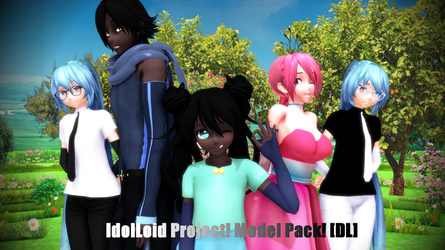 [MMD] IdolLoid V3 models! [+DL!] by Cutie-P
