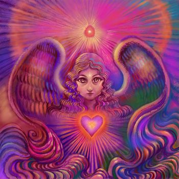 Angel of Love by DivineLightAngels