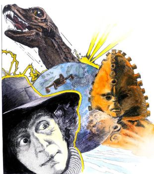 Dr Who and the Zygons by Snake-Artist