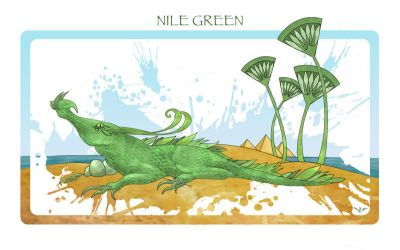 Nile Green by TheBryde