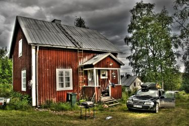 House in Jamtland HDR by callegg