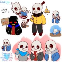 Sans Drawpile by CKaitlyn