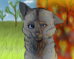 Good and evil Ashfur by Speck--Of--Dust
