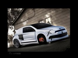 VW Scirocco by Tino-artS