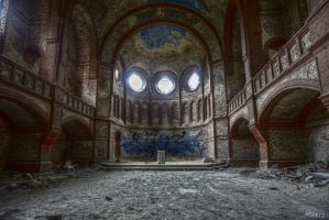 decayed church by Harriz