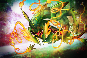 Another Mega-Rayquaza FanArt by lululock71