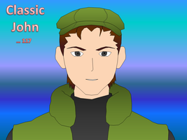 Powerpoint Trace: Classic John by halconfenix