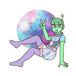 Space Girl by PrevailCreations