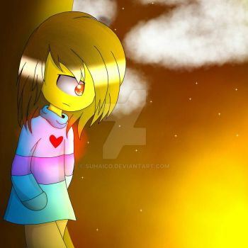 Decisions - Glitchtale Frisk by SuhaiCo