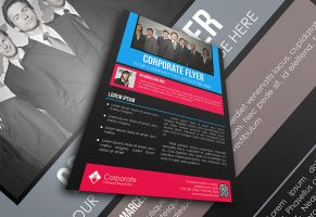 Corporota Flyer Template by afizs