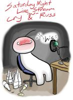 Saturday Night Live with Cry and Russ by yuyuhaio