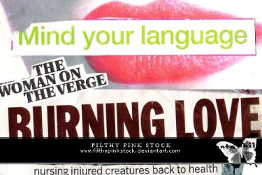 Text - Magazine Clippings by FilthyPinkStock