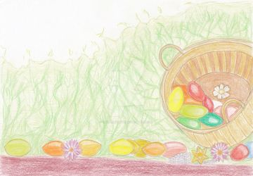 Eggs Basket-Thumbhub Easter Contest Entry by kasalieyafet