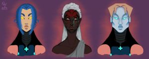 Some Xenoplant babes by Nefepants