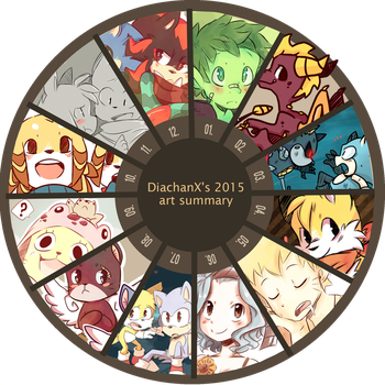 2015 ART SUMMARY by DiachanX