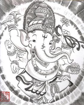 Ganesh, Remover of Obstacles by catherinejao