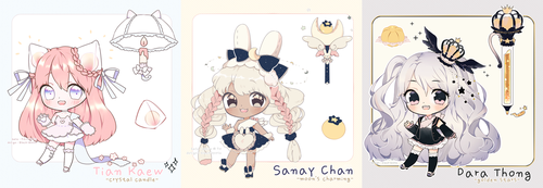 [CLOSED] Thai Desserts Adoptable | set price by Black-Quose