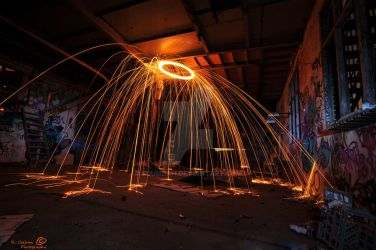 Fire Shower. by Boumbah