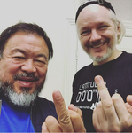 Ai Weiwei and julian by lisa-im-laerm