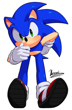 Sonic by Myly14