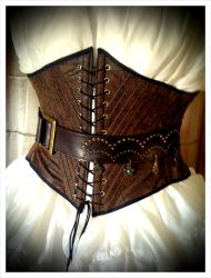 Pirate Style Tooled Leather by sarlume