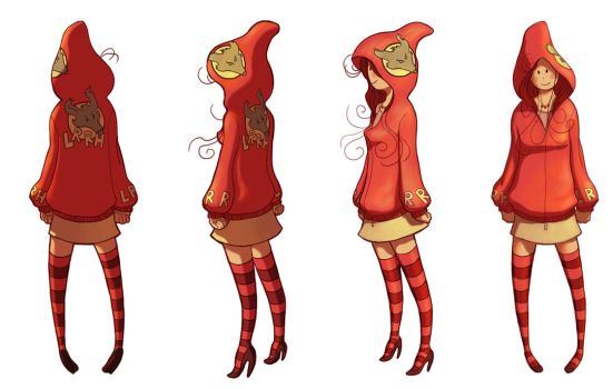 Little red Turnaround by c-a-s