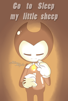 Go to sleep my little sheep by XcrystalthewolfX