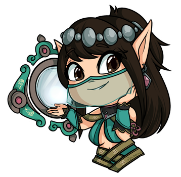 Ying Sticker - Paladins by xElisyma