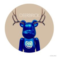 DeerBrick blue by xavierlokollo