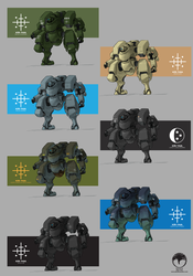 KR-14 Units by Norsehound