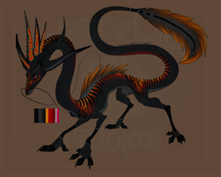 [Cash Adopt] - Eastern Lung Dragon [SOLD] by Linka-Bell