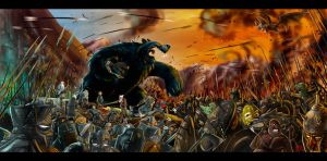 Battle of the five armies by themico