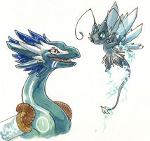 Wildclaw and lightning sprite by owlburrow