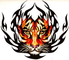 Flames of the Tiger by Shigdioxin