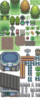 D-P tilesets by PokemonEclipse
