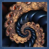 Just A Spiral 1 by Velvet--Glove