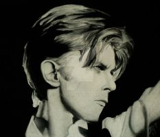 Bowie.Thin White Duke by violet51