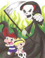 The Grim Adventures of Billy and Mandy by Darkhorse888