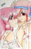 Elfen Lied - Lucy and Nana by Saicross