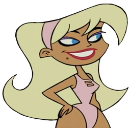 That Hot Girl in Johnny Test as PNG by TheLivingBluejay