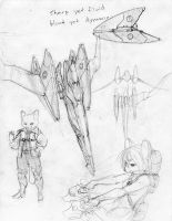 arwing by Makkon
