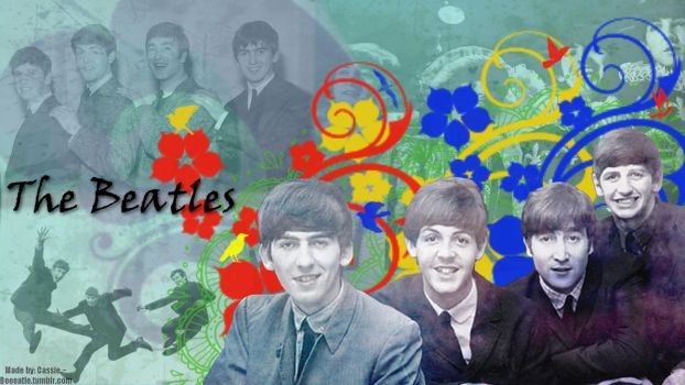 The Beatles Wallpaper III by beeeatle